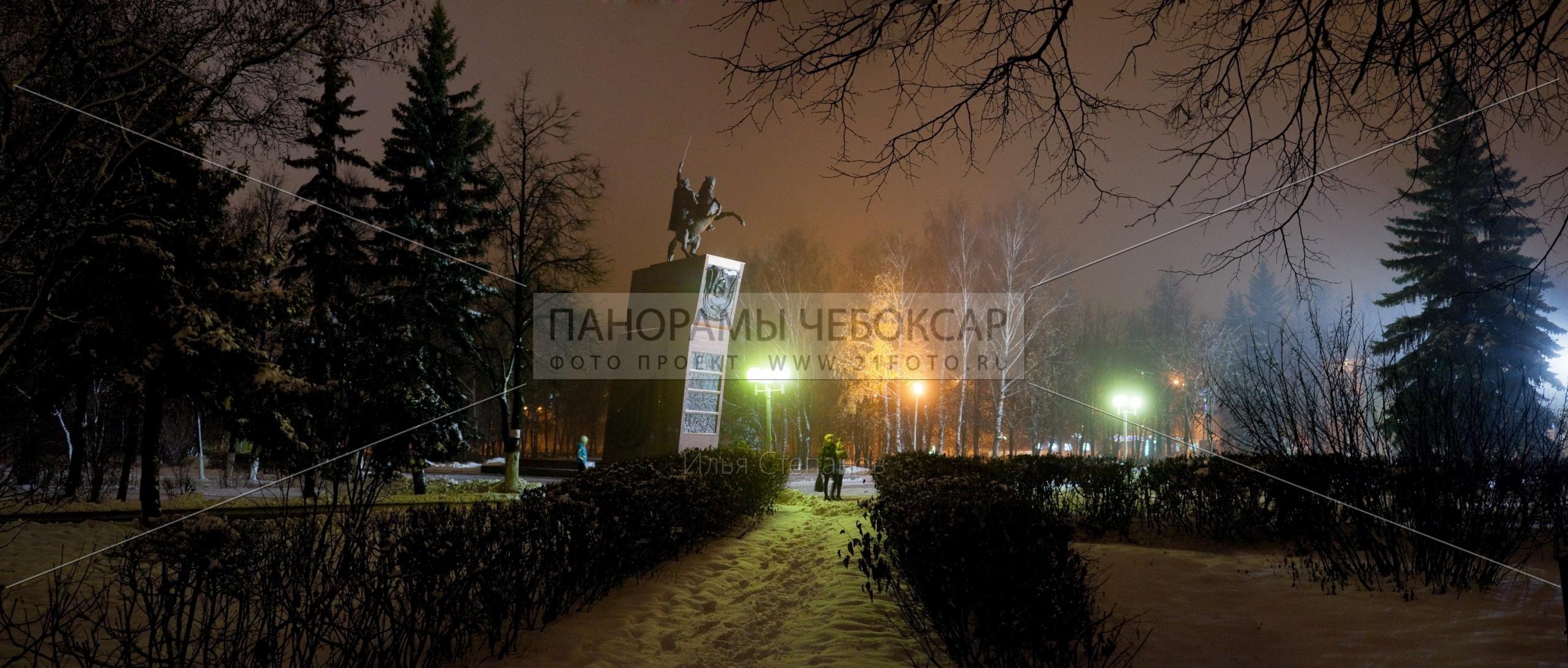 Памятник Чапаеву — Илья Степанов — Чебоксары