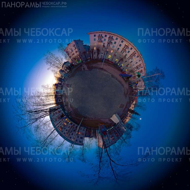 Фото планета города Чебоксары