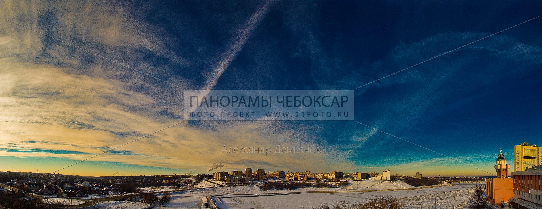 Панорамы и фотографии Чебоксар
