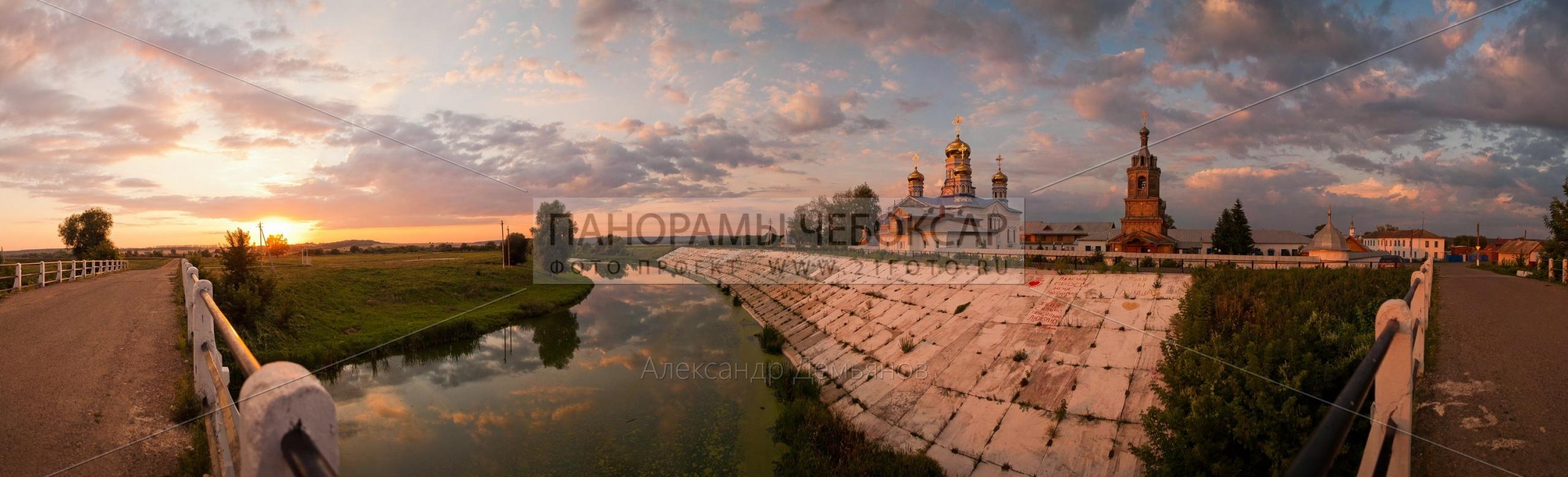 Тихвинский женский монастырь в городе Цивильск