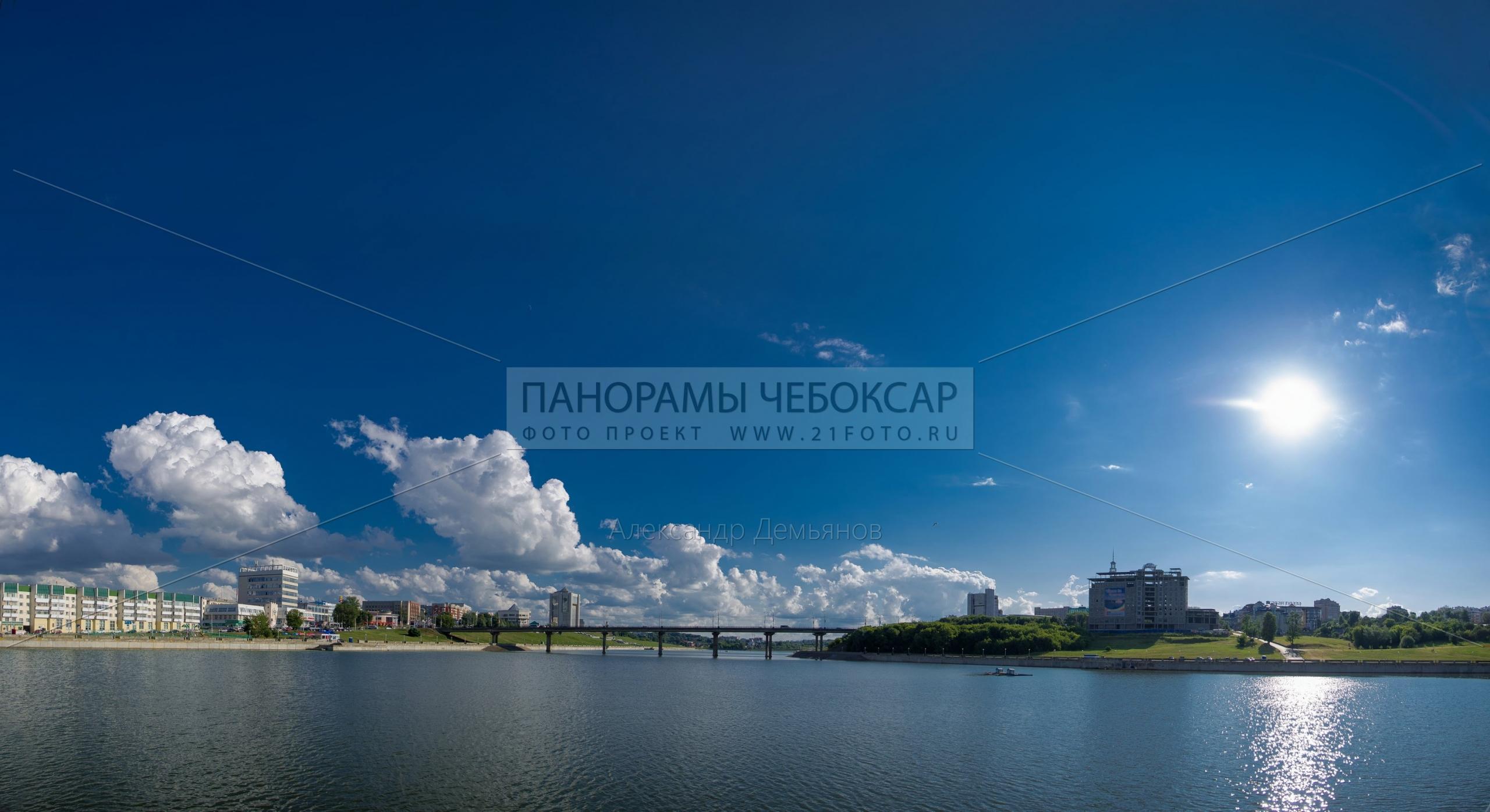 Московский мост, Дом правительства, Чебоксары