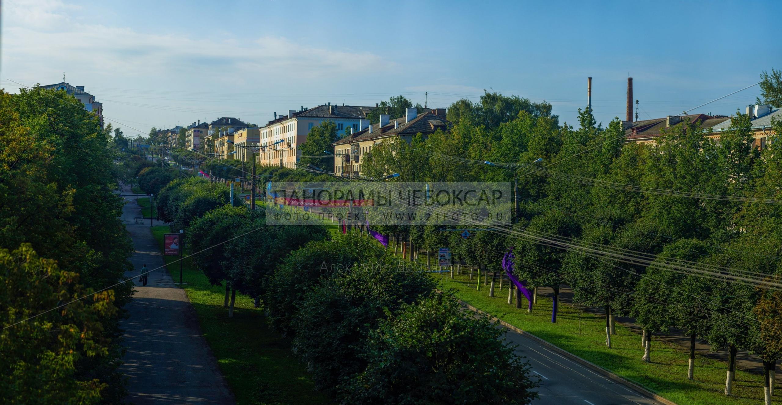 Проспект Ленина днём