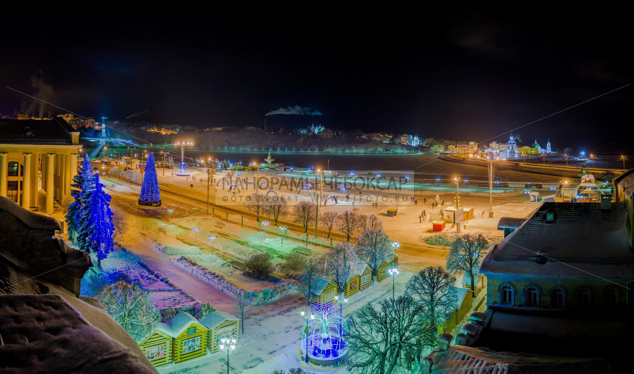 Красная площадь зимой 2013