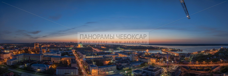 Город Чебоксары весной 2015