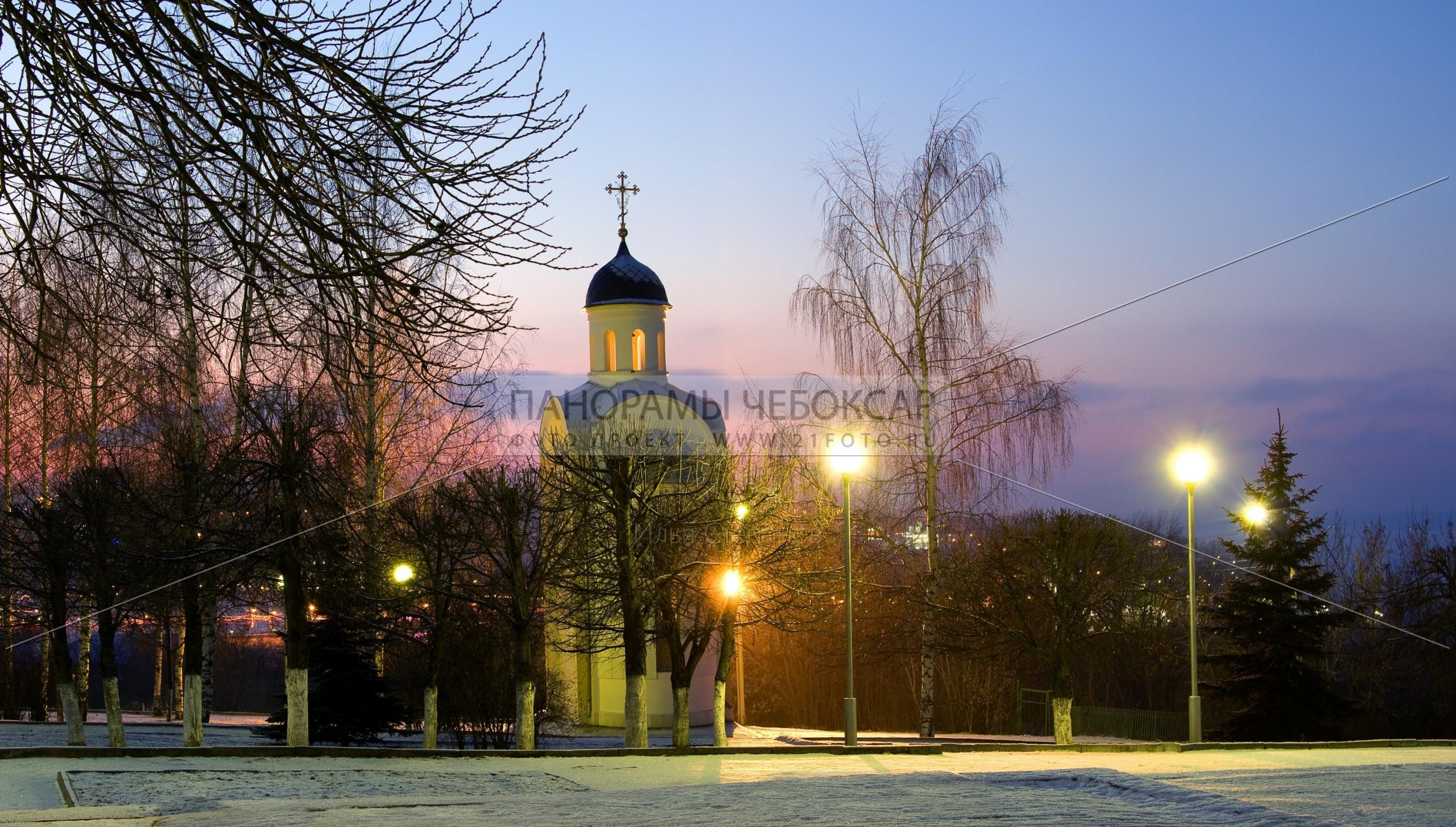 Храм-часовня Иоанна Воина Вид №3 Илья Степанов — Чебоксары
