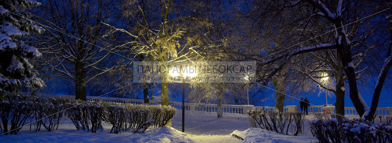 Набережная зимой — Илья Степанов — Чебоксары