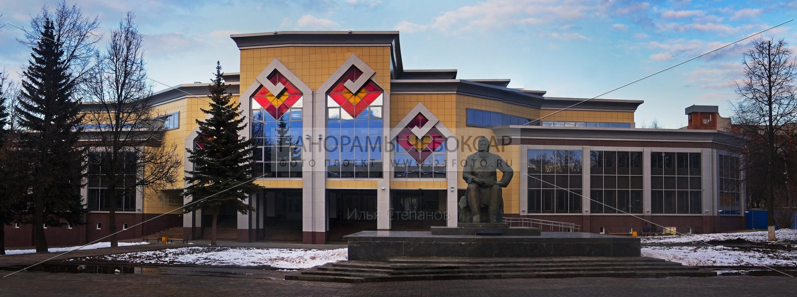 Памятник Ивану Яковлеву — Илья Степанов — Чебоксары