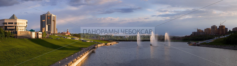 Фонтаны летом — Илья Степанов — Чебоксары