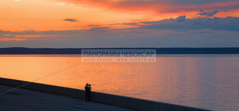 Закат на волге — Илья Степанов — Чебоксары