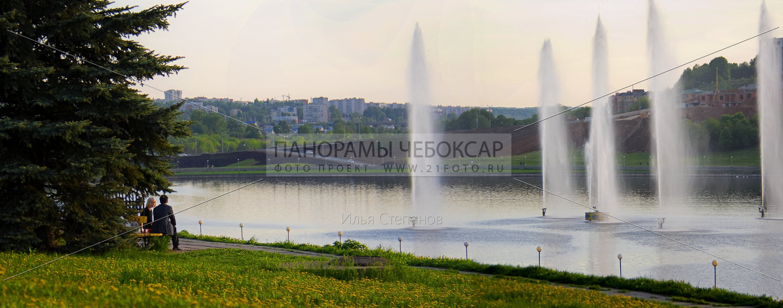 Летние фонтаны — Илья Степанов — Чебоксары