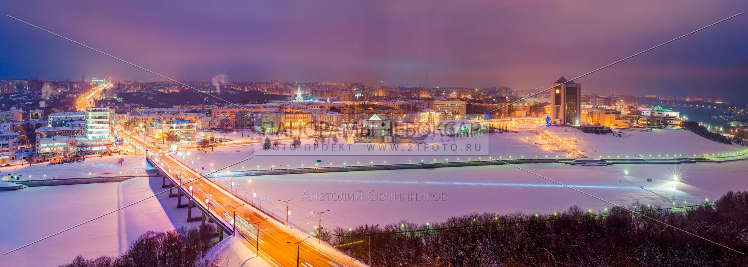 Чебоксарский залив с Одис отеля