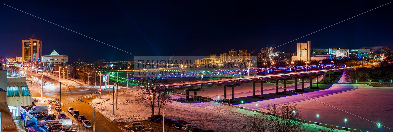 Московский мост зимой