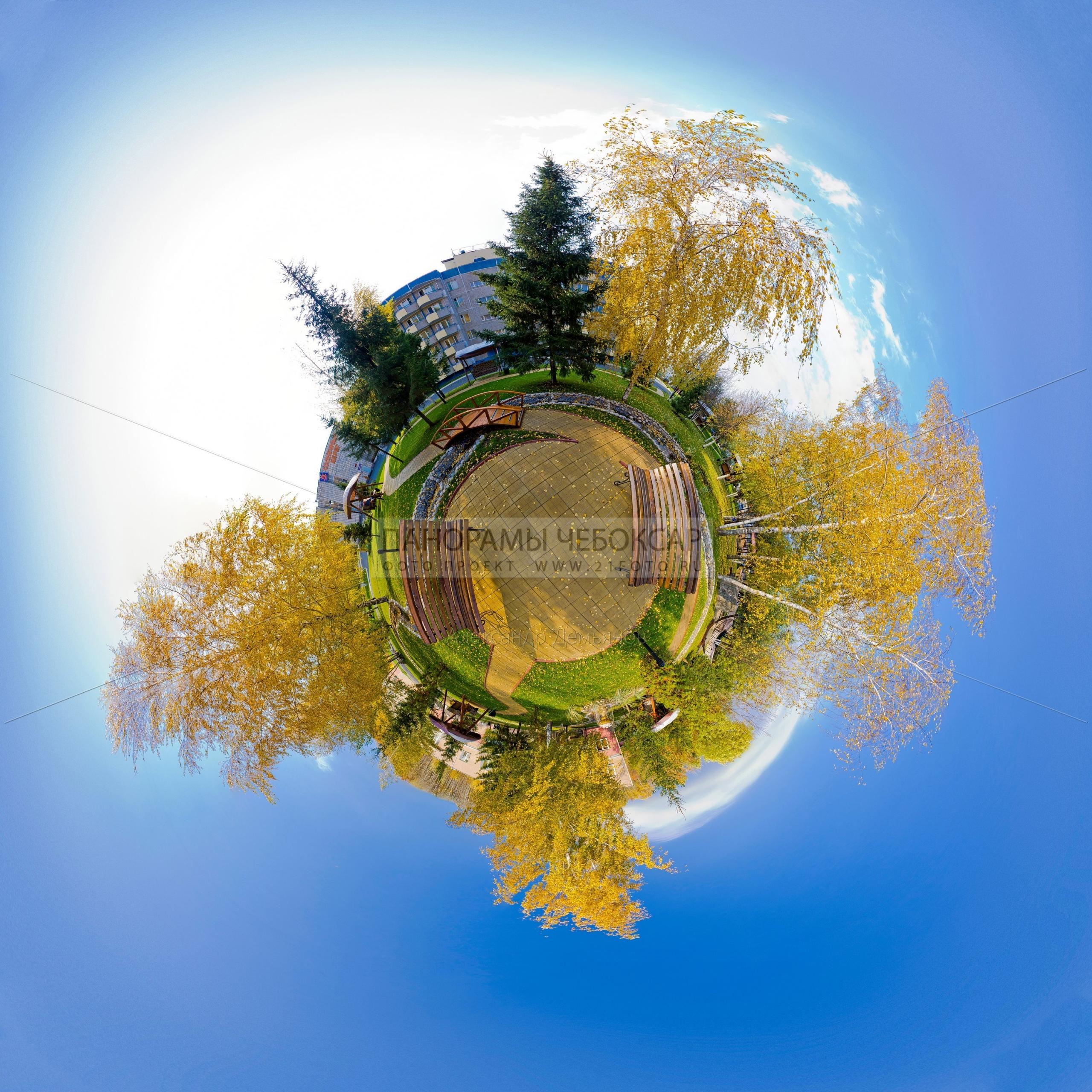 Панорама сада ДО Солнечный берег | Виртуальный тур