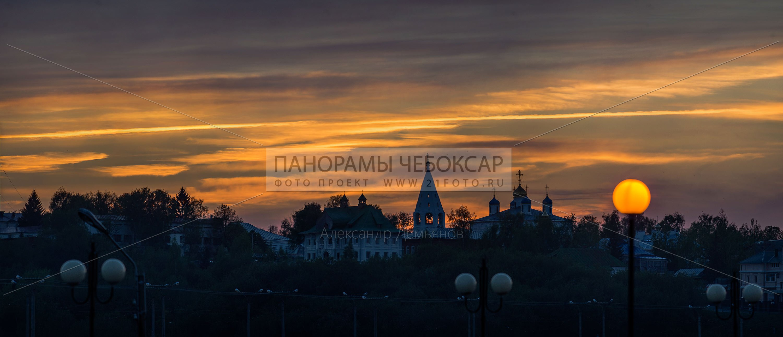 Весна, закат — Введенский собор