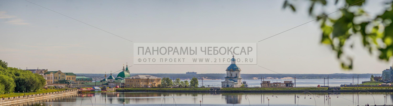 Чебоксарский залив Весной 2014