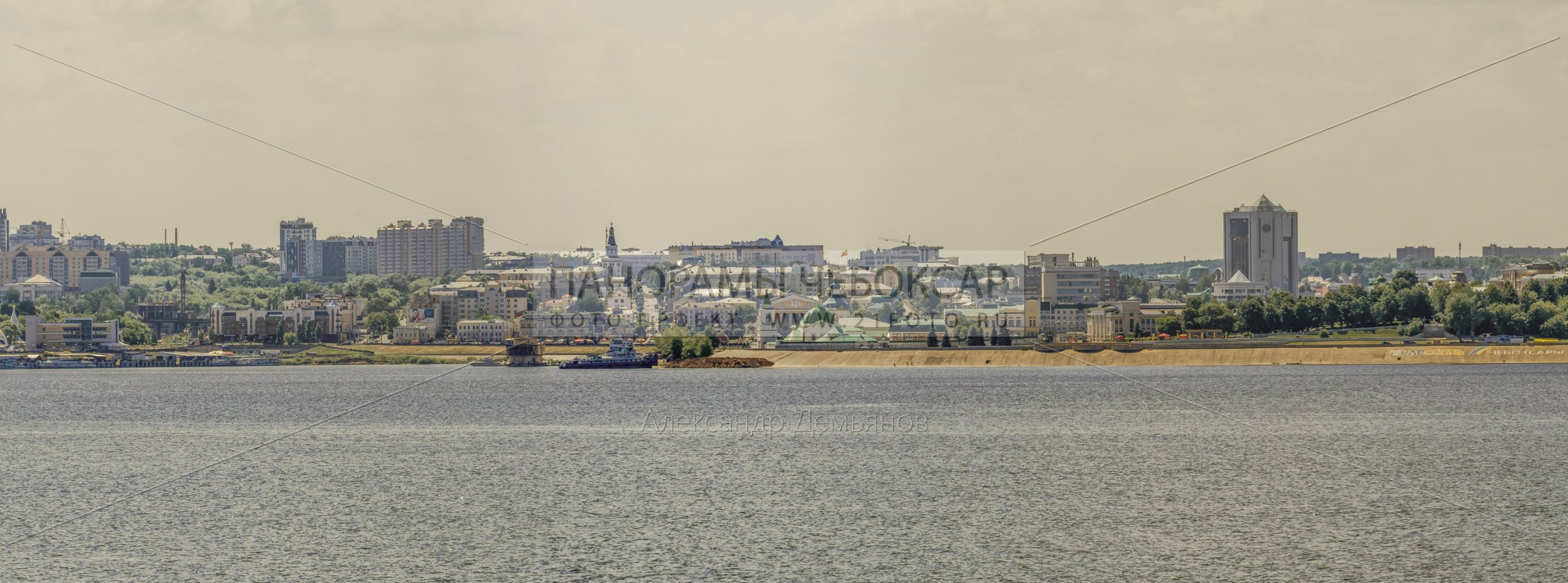 Первый день лета — левый берег, река Волга