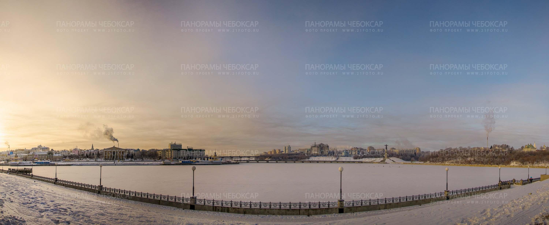 Зимнее утро на заливе