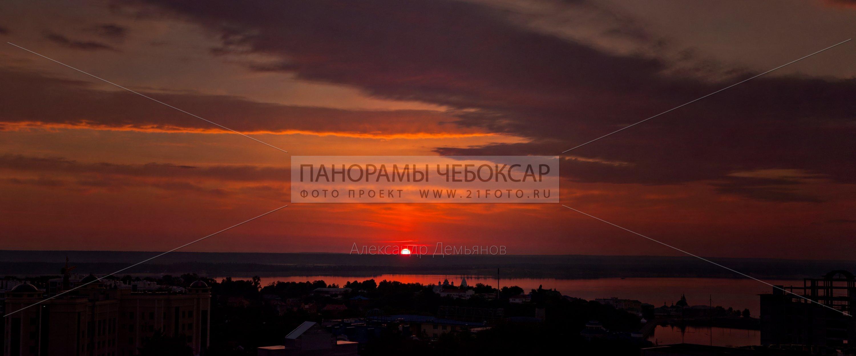 Рассвет в Чебоксарах