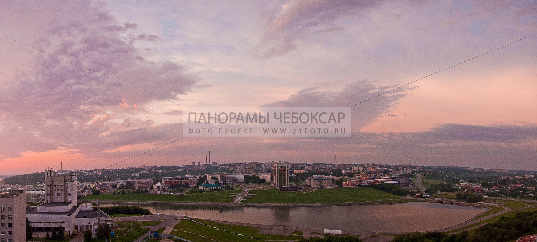 Фото чебоксарского залива на рассвете