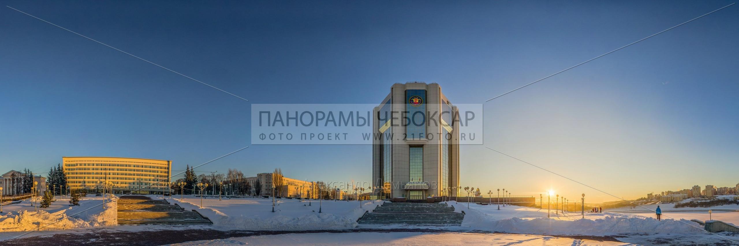 Дом правительсва Чувашской Республики