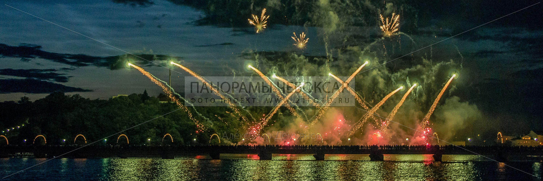 День республики 2014 Фестиваль фейерверков