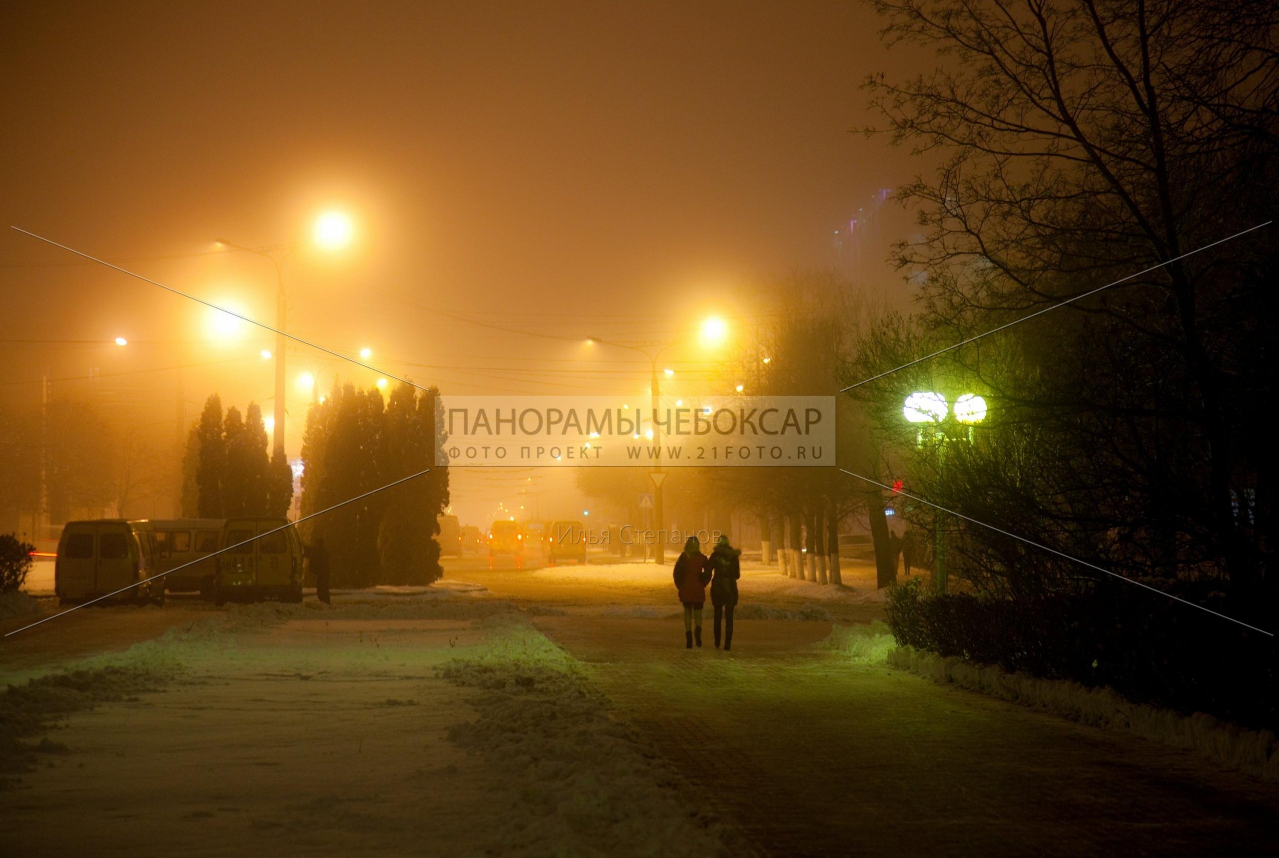 Проспет зимой — Илья Степанов — Чебоксары