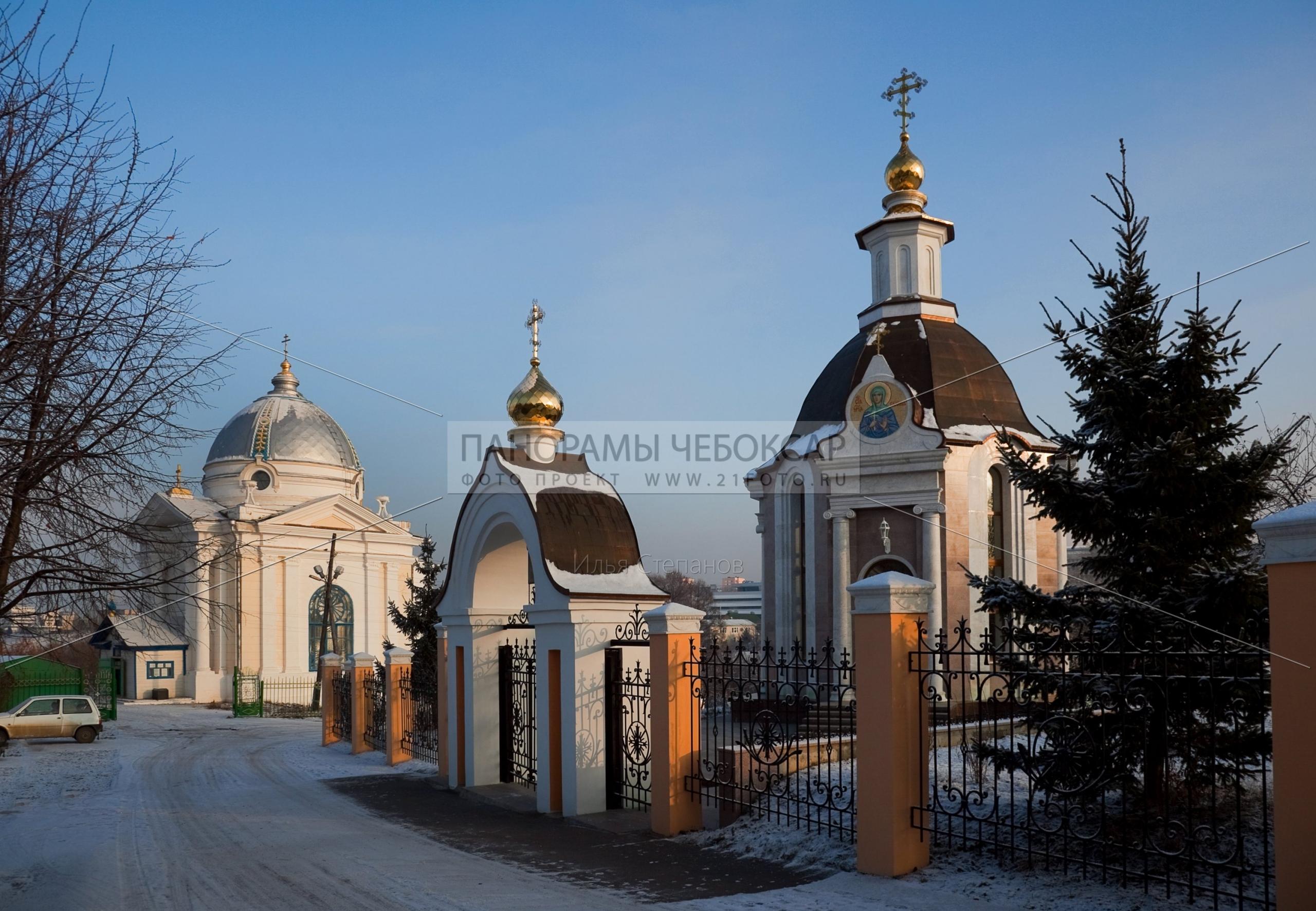 Церковь Иоанна Кронштадтского зимой — Илья Степанов — Чебоксары