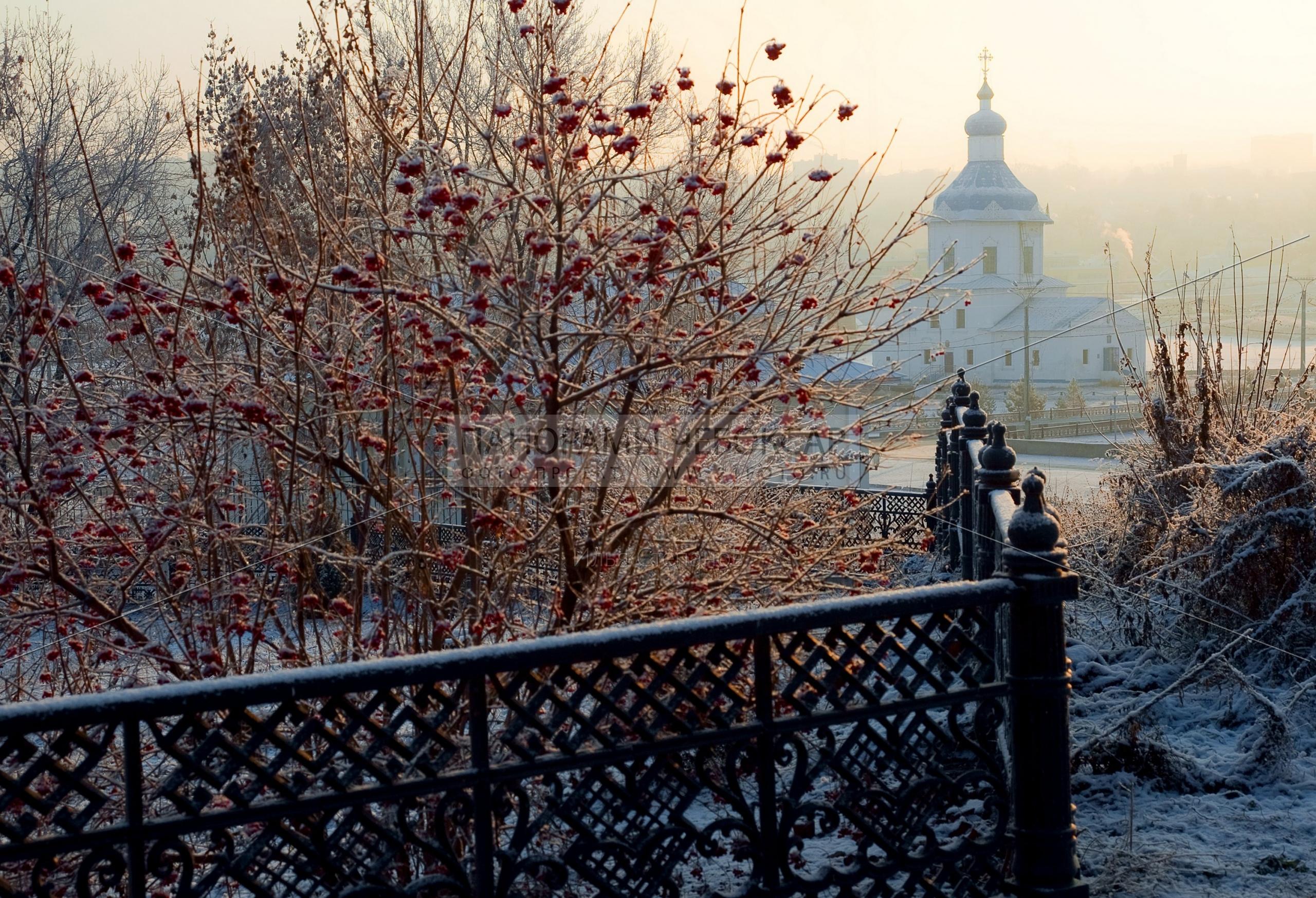 Утро на заливе зимой — Илья Степанов — Чебоксары