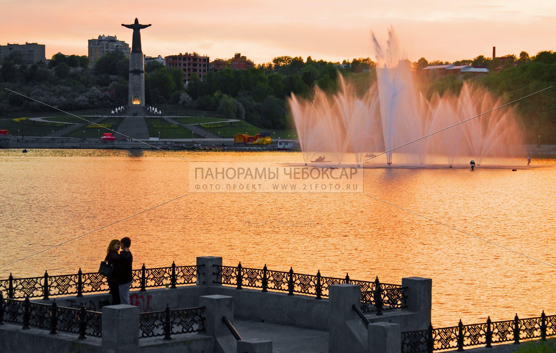 Фонтаны на заливе — Илья Степанов — Чебоксары