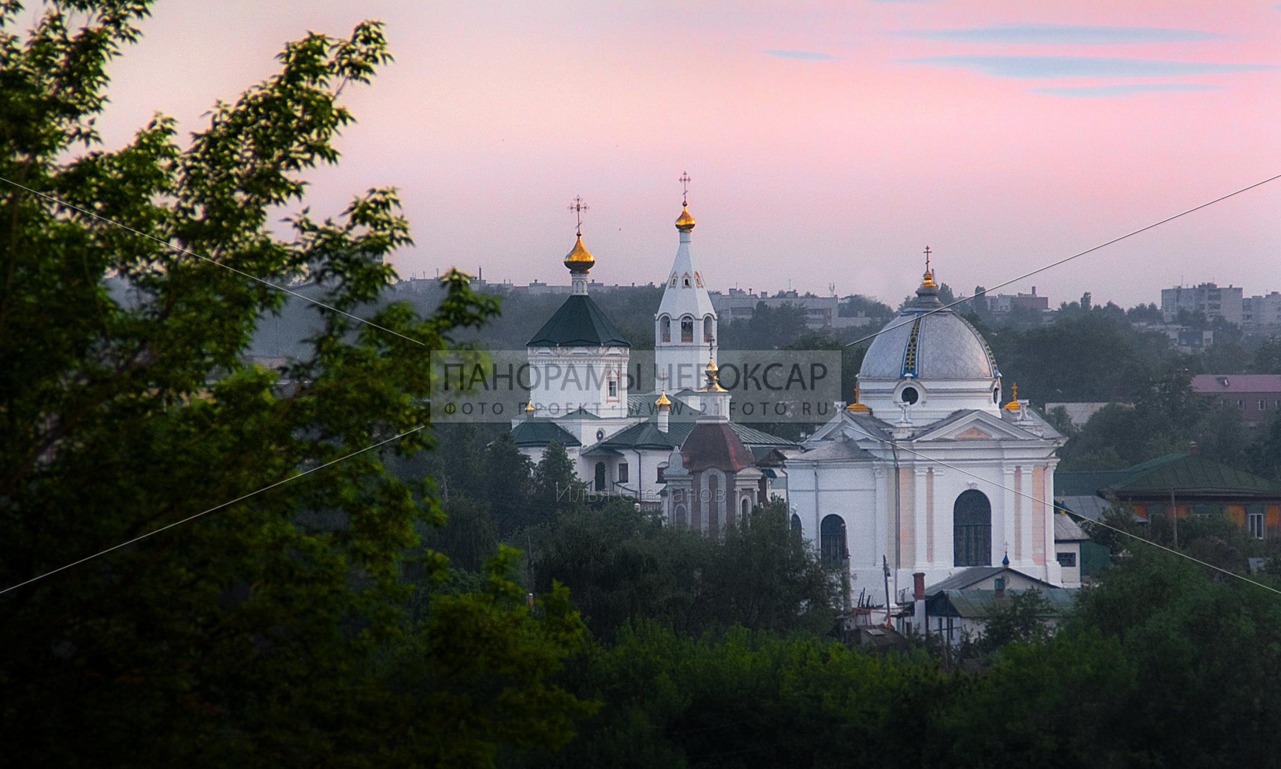 Церковь Иоанна Кронштадтского и Спасо-Преображенский женский монастырь