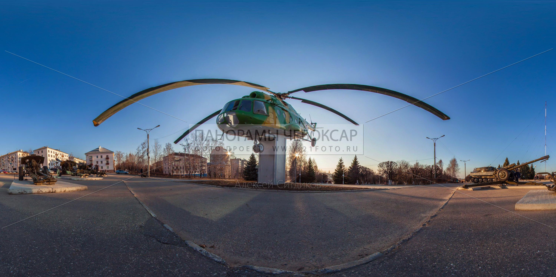 Музей военной техники — вертолет МИ-8