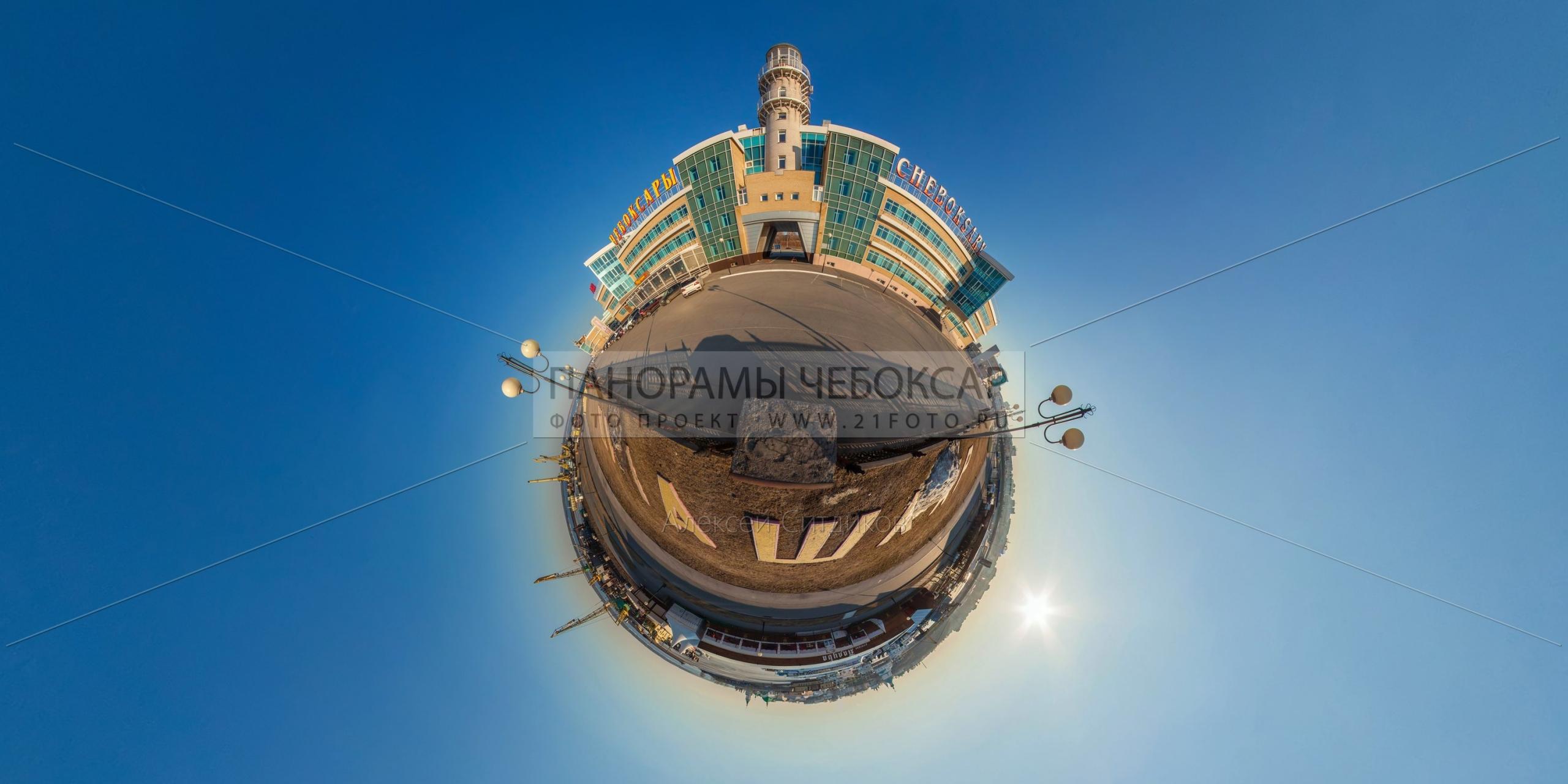 Речной порт — маленькая планета