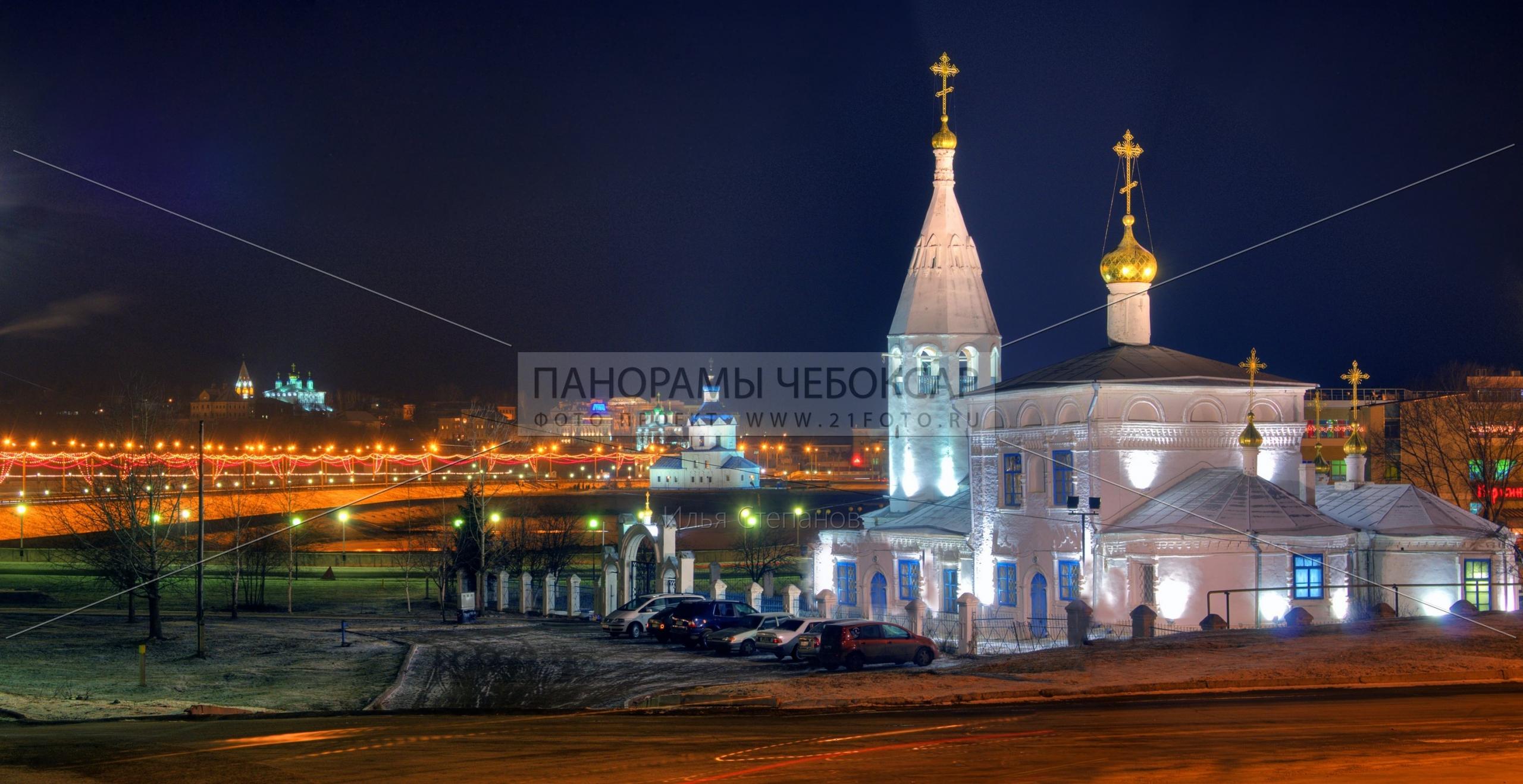 Церкви Чебоксар, Илья Степанов