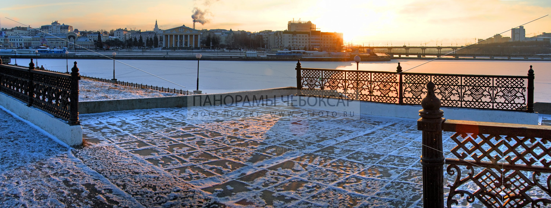 Яркий залив зимой — Илья Степанов — Чебоксары