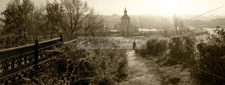 Мороз и иней на заливе — Илья Степанов — Чебоксары