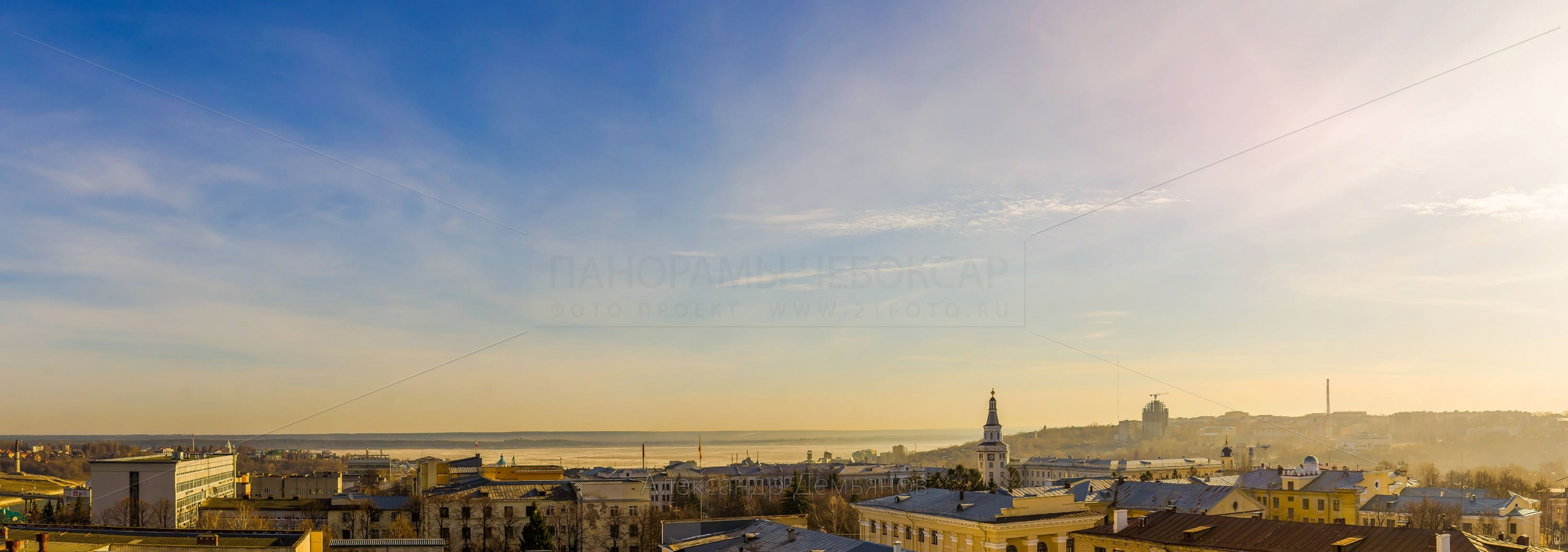 Утро в центре города весной 2013