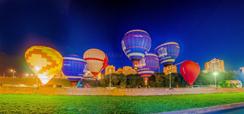 Фестиваль воздушных шаров в День города Чебоксары 2015