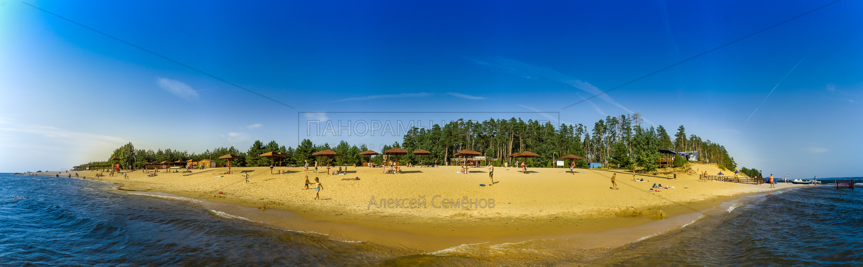 Левобережный пляж Чебоксары 2016