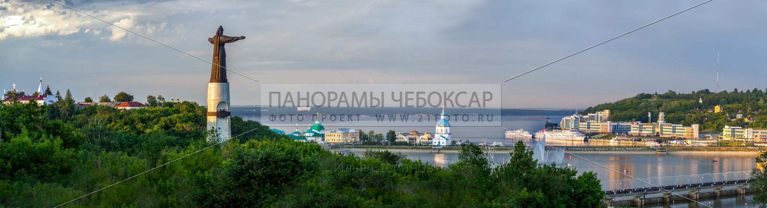 Чебоксарский залив летом 2016 Илья Степанов