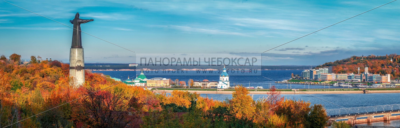 Чебоксарский залив осенью 2016 Илья Степанов