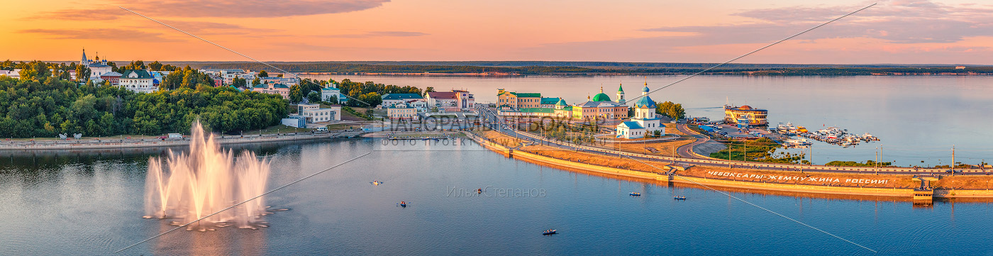 Чебоксарский залив в золоте 2018