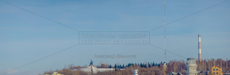 Утраченный Чебоксарский вид на парк победы Зима 2013