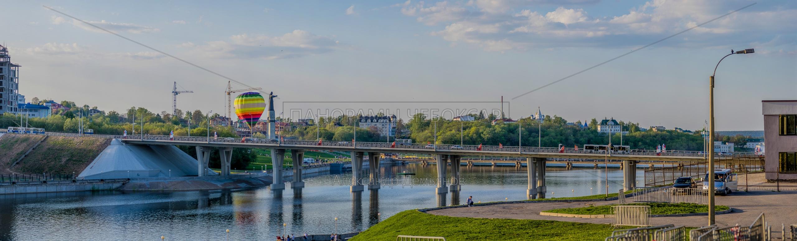 Новый Московский мост — Чебоксарский залив Весной 2019 I