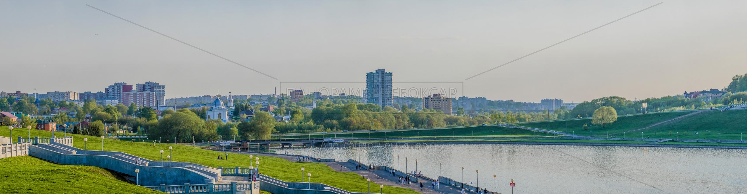 Чебоксарский залив Весной 2019 II