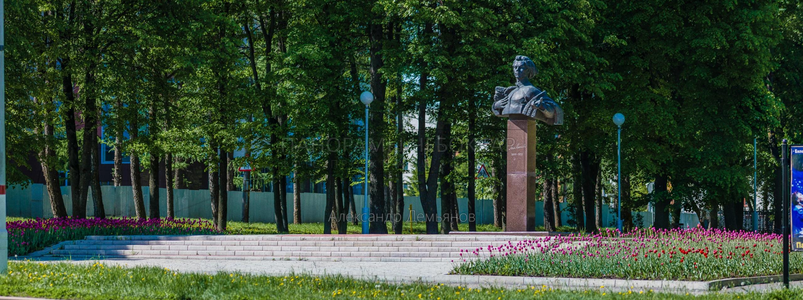 Бюст Михаила Сеспеля весна 2019
