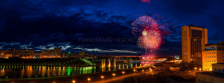 Фестиваль фейерверков на День Республики летом 2019