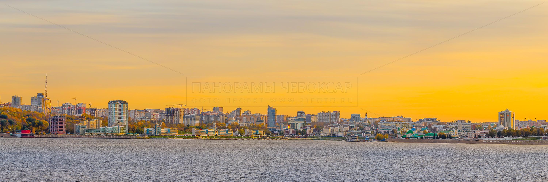 Золотая осень в Чебоксарах 2019